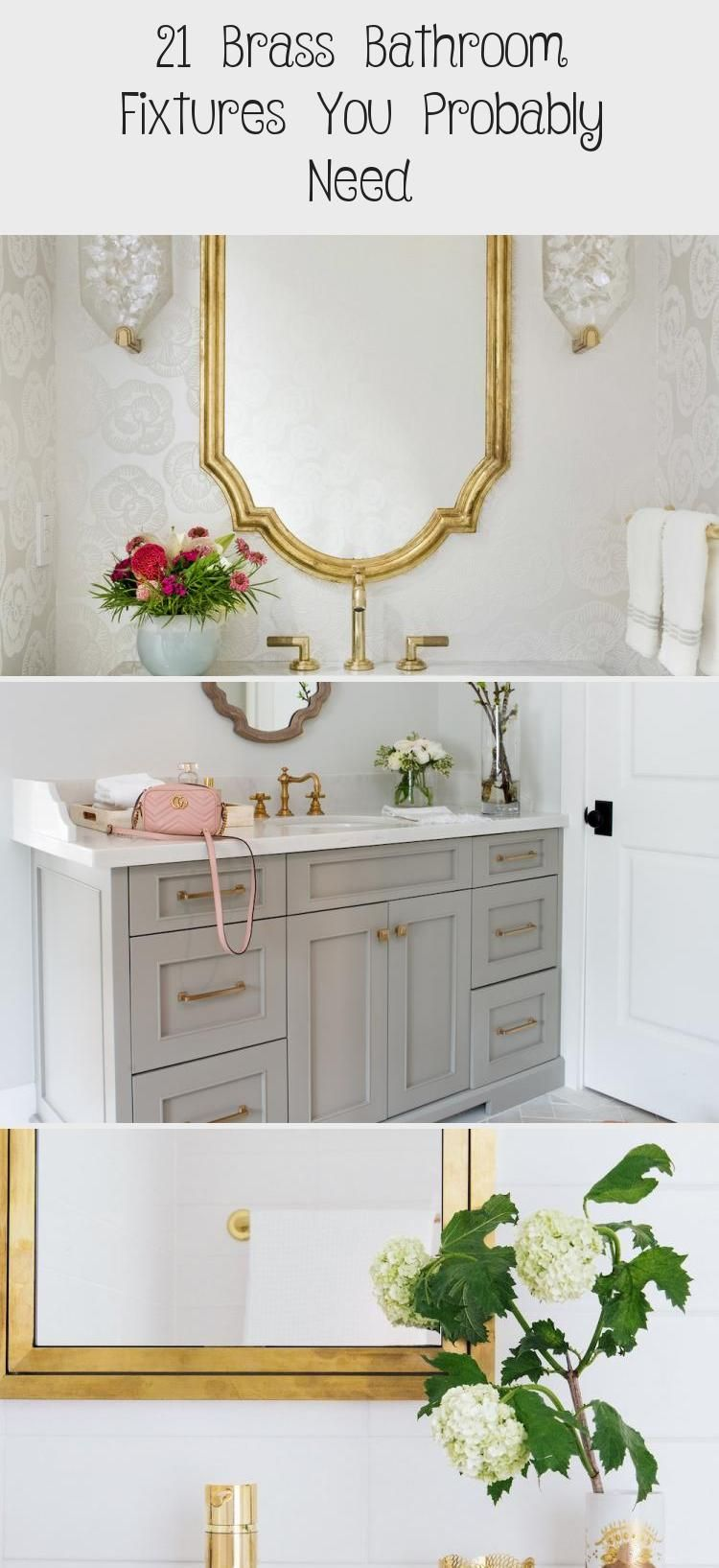 Photo of 21 brass bathroom fixtures you'll probably need – bathrooms