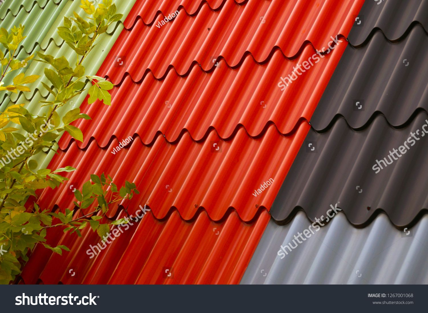 Tile Profile Roofing Sheet A Metal Lightweight Roofing And Walling Profile In Several Colors Sponsored Spon Sh Roofing Sheets Metal Roof Tiles Roofing