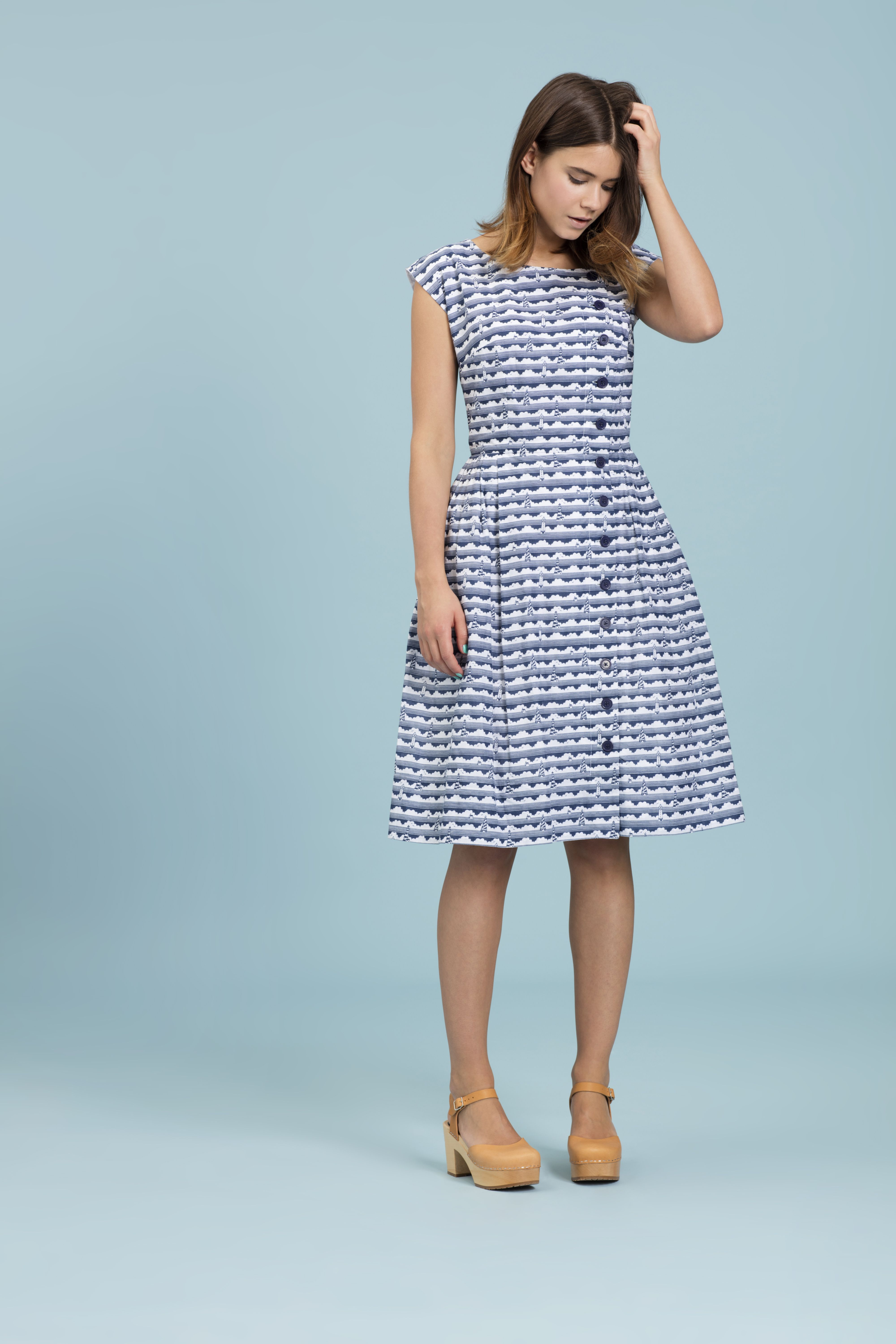 045a89d41aa9 Emily and Fin Nancy Dress in Naval Navy Lighthouses | E&F | Lookbook ...
