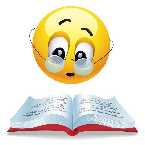 Bildergebnis für smiley Lesen