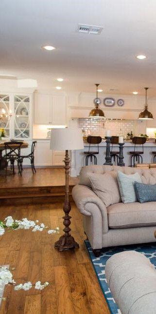 Floor Lamp Living Room Hgtv Fixer Upper A Big Fix For A House In