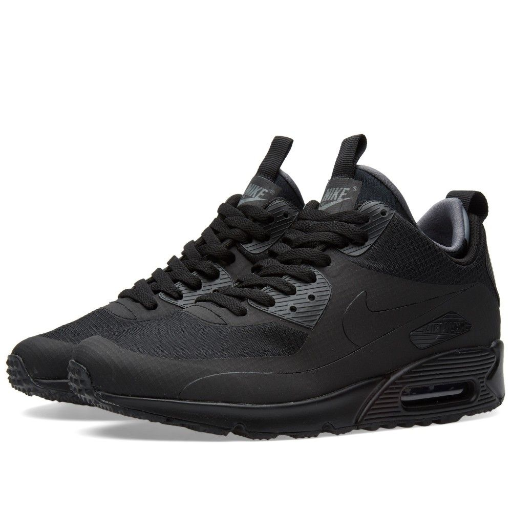 new products d7fa5 9766e Nike Air Max 90 Mid Winter (Black)
