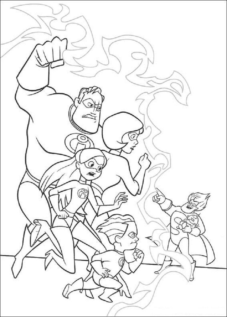 Incredibles Coloring Pages Pdf Disney Coloring Pages Coloring Books Cool Coloring Pages