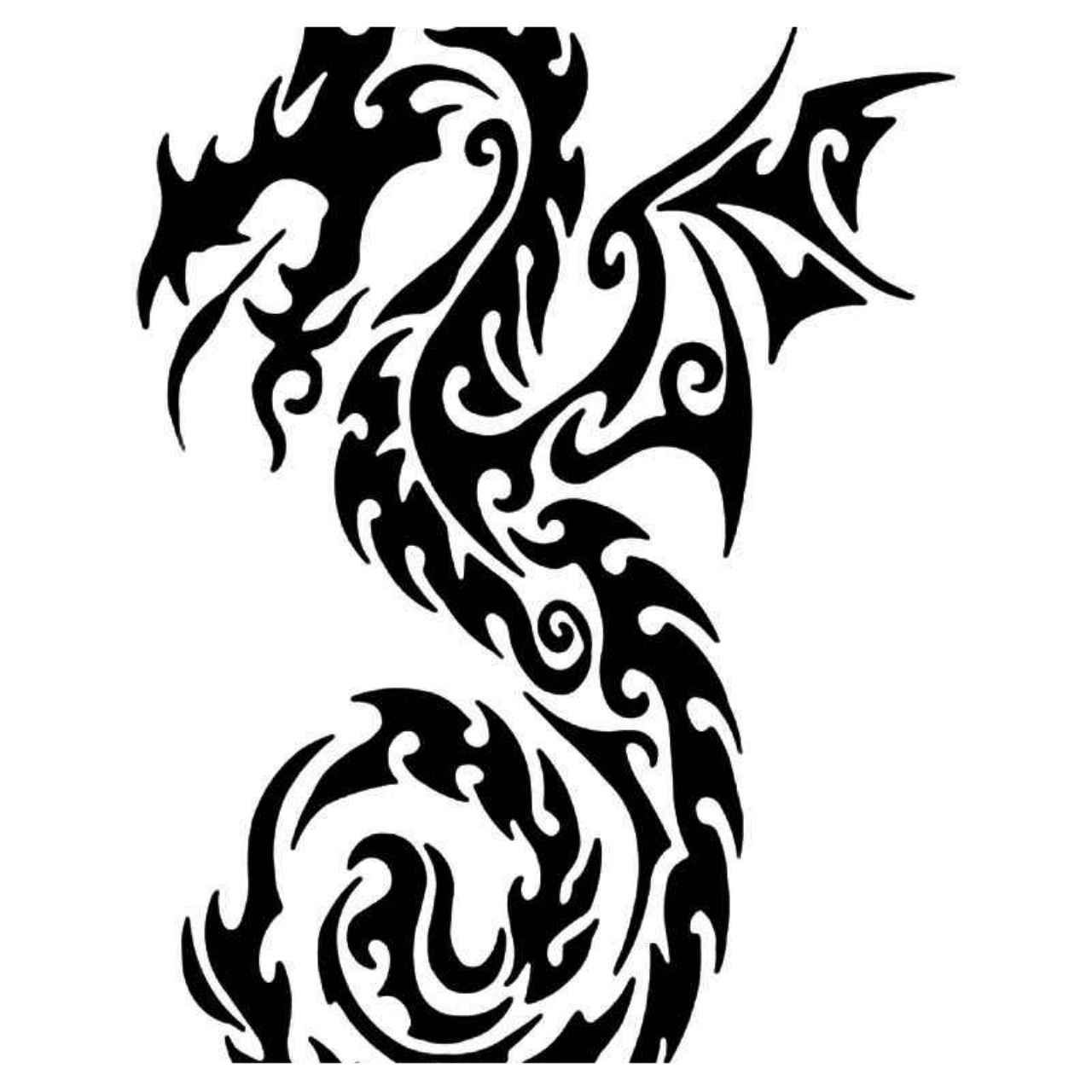 Tribal Dragon 31 Vinyl Decal Sticker Ballzbeatz Com