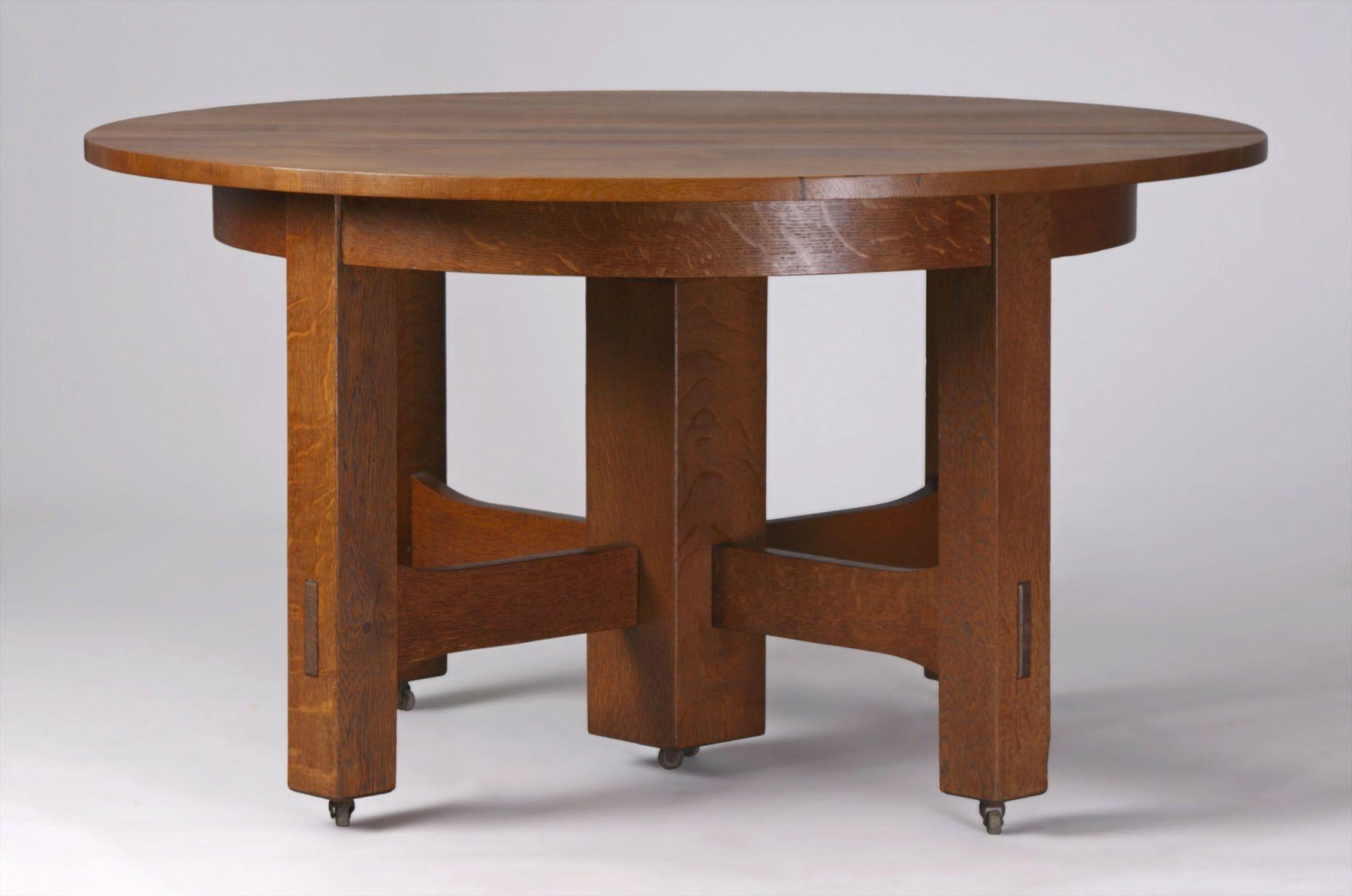 Gustav Stickley Table Stickley Furniture Arts And Crafts