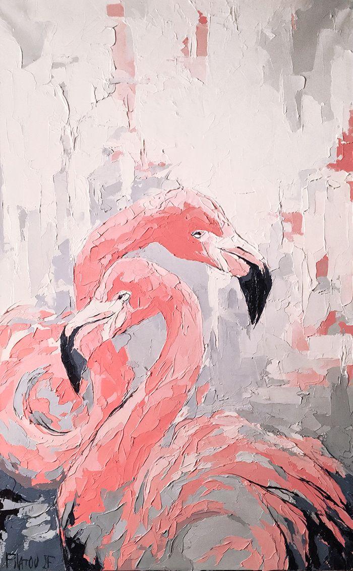 نقاشی فلامینگو جدید