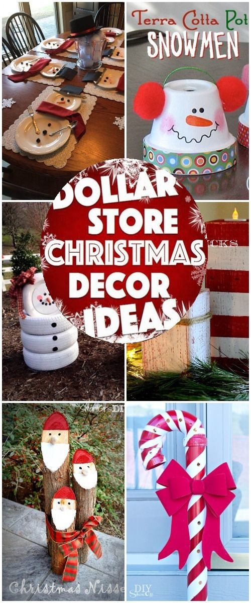 30 of the best dollar store diy christmas decorations