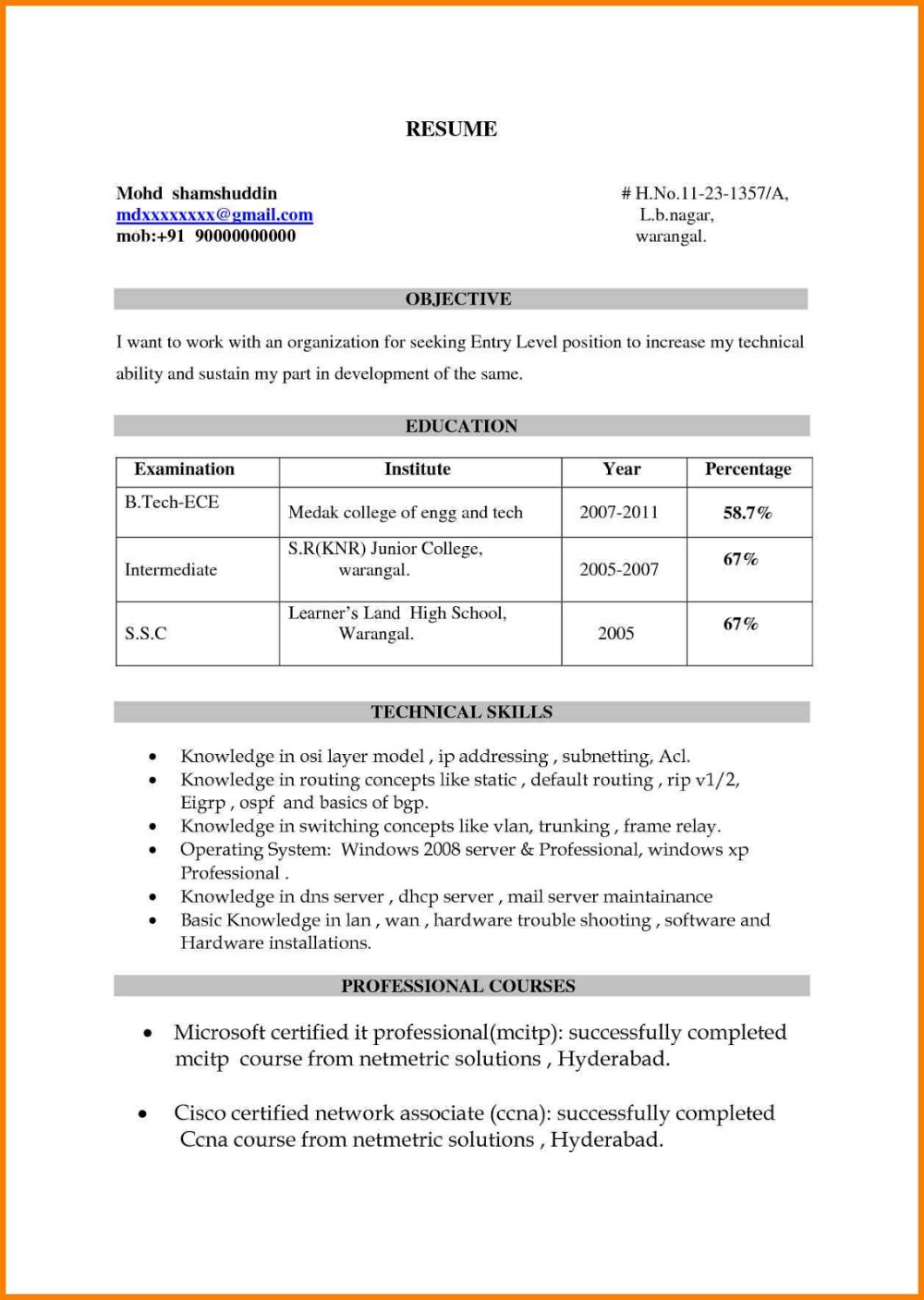 a good resume title a good resume title for customer