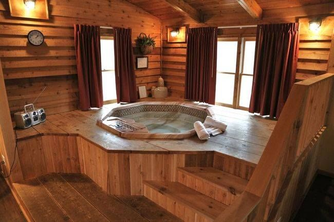 Pin By Danielle Hogue On Home Hot Tub Room Home Indoor Hot Tub