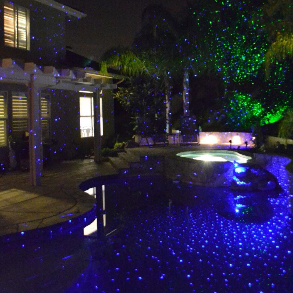 Perma Bright Blue Laser Projector Landscape Light Style 1g422 Landscape Lighting Outdoor Lighting Outdoor Projector