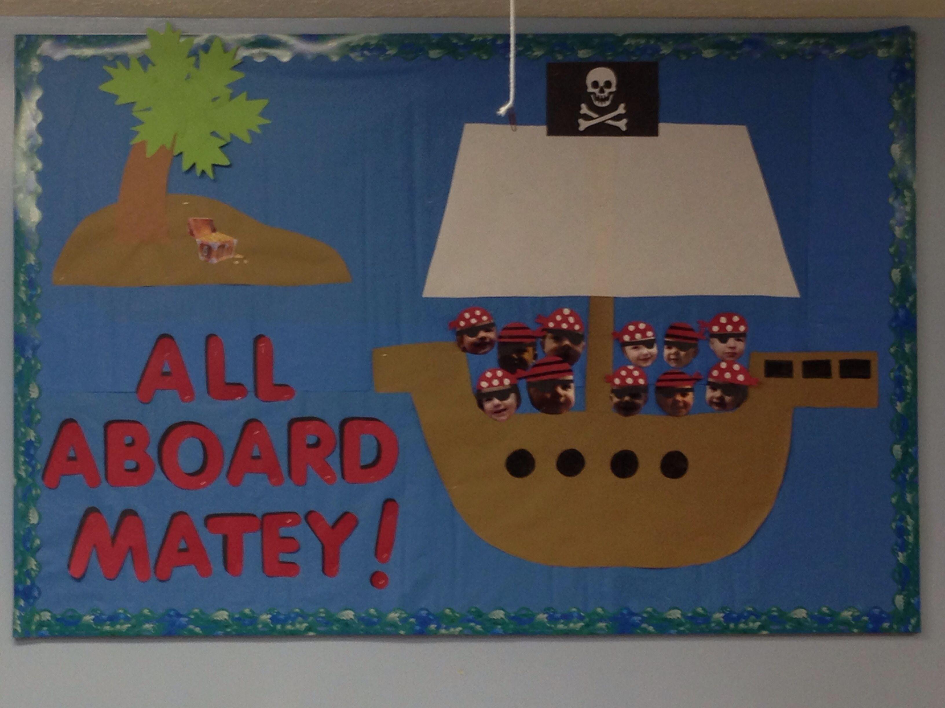 Pirate Themed Bulletin Board