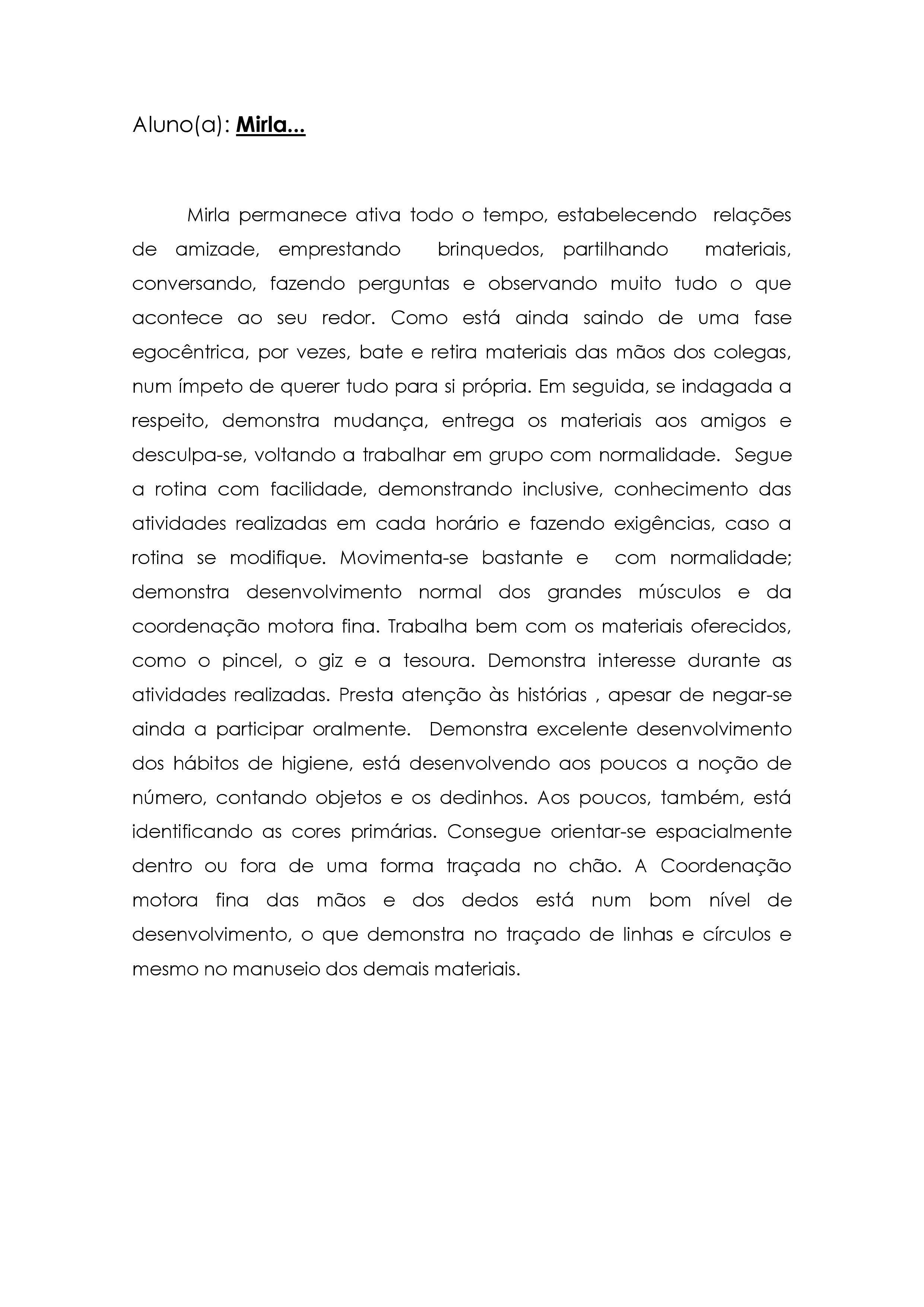 Preferência modelo de relatório de avaliação | Montessori | Pinterest  CX71