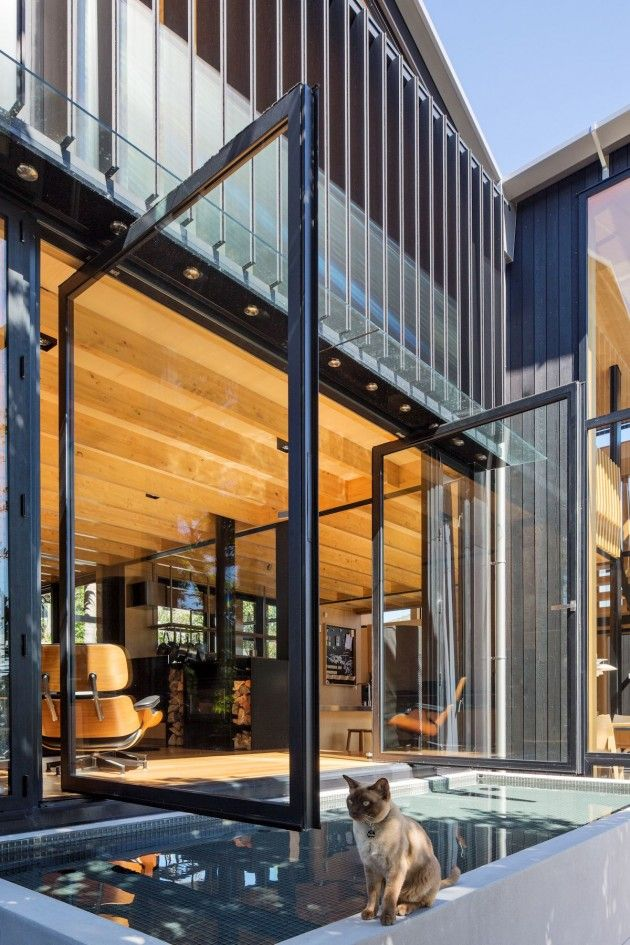 Boatsheds by Strachan Group Architects with Rachael Rush