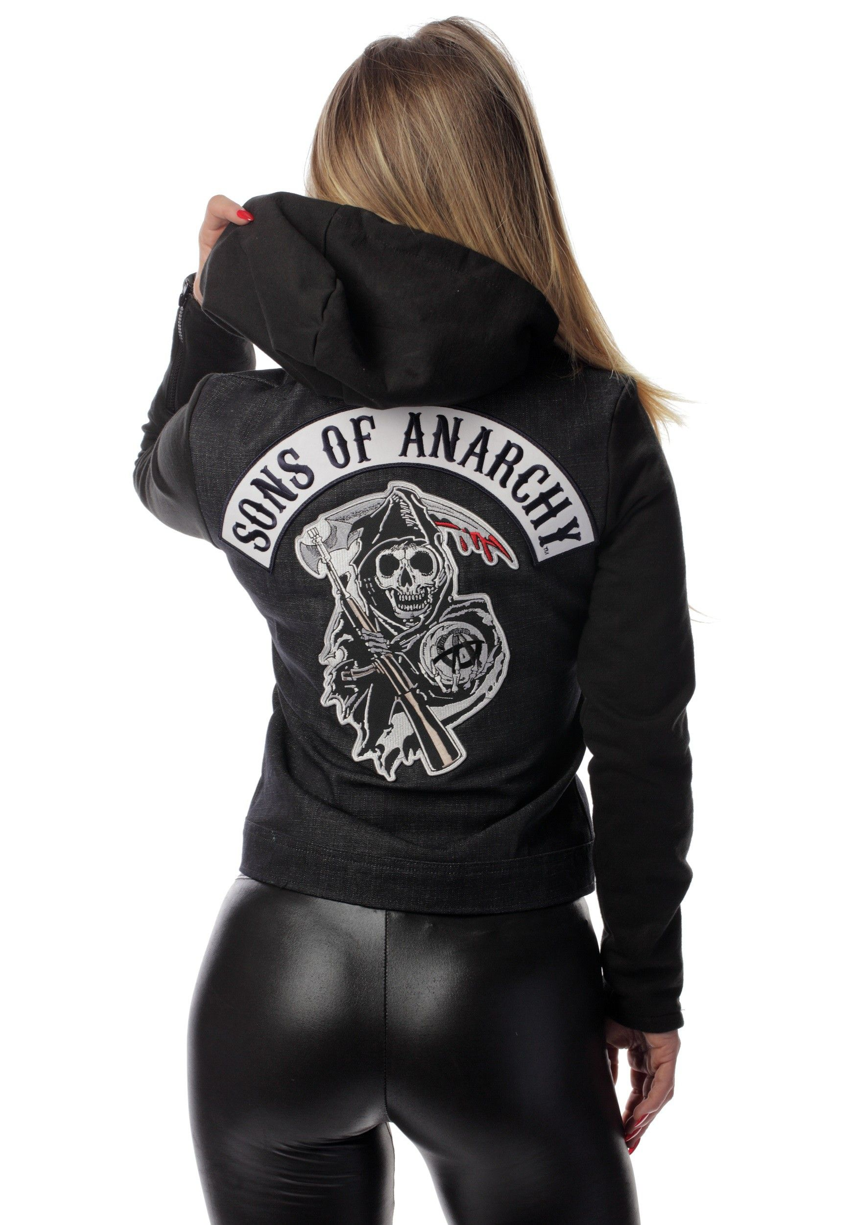 In the mood for a biker brawl? You better throw on this Women's Sons Of Anarchy ... 3