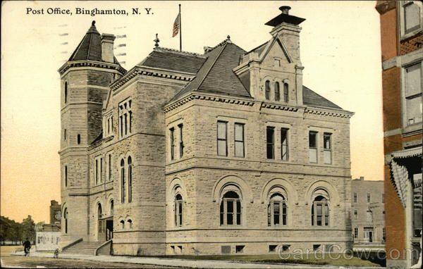 Post Office Post Office Binghamton Binghamton New York