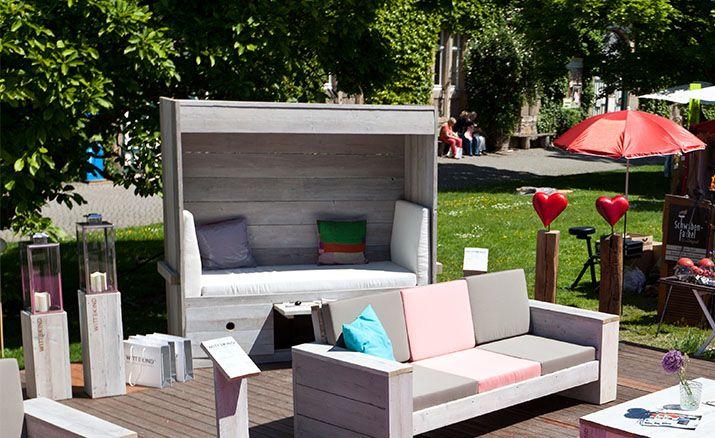 Wittekind´s Alternative zum Strandkorb - garten lounge mobel holz