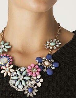 Collar joya Suiteblanco