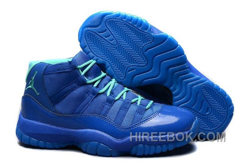 Shop New Air JD 11 Retro All Blue/Teal For Mens Online