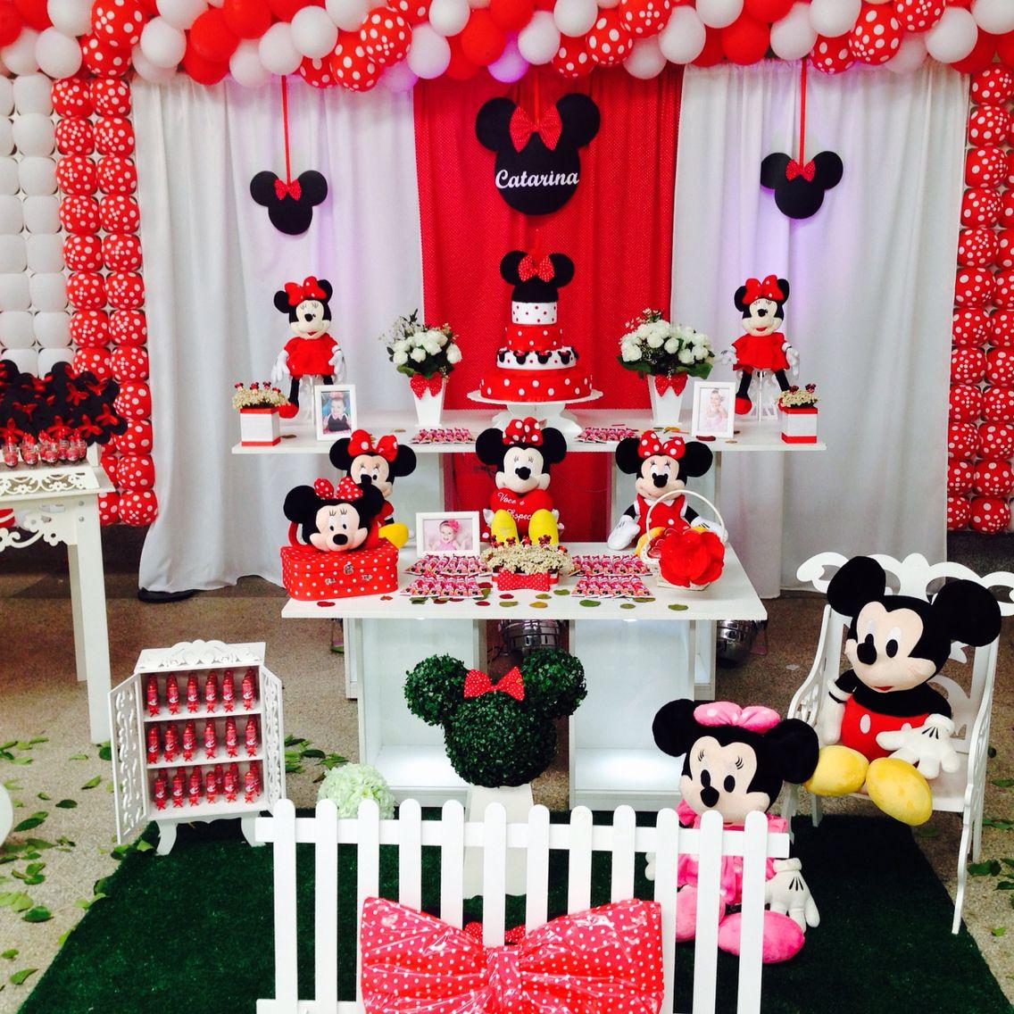 Festa Minnie Festa Minnie Festa Minnie Vermelha Festa Mickey E