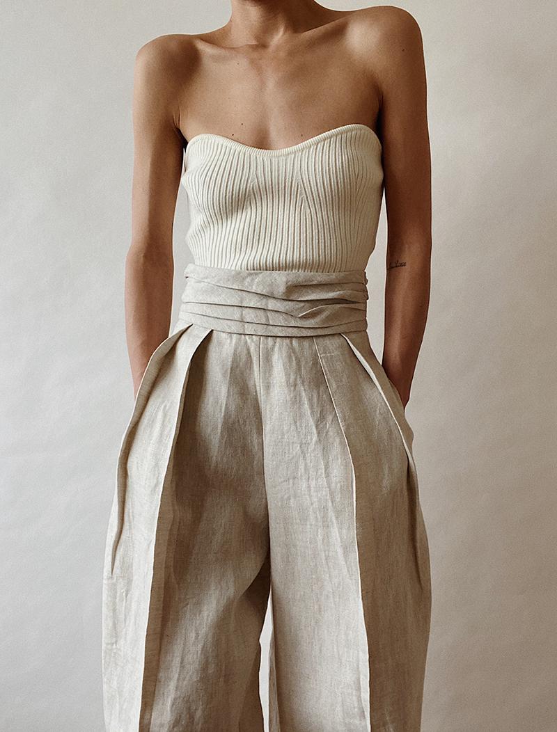 Oversized Linen Suit | MODEDAMOUR