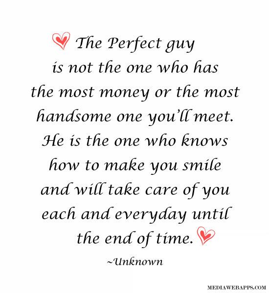 The Perfect Guy Love Quotes