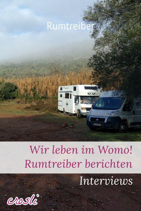 Rumtreiber Collection | Wohnmobil, Urlaub im wohnmobil, Womo