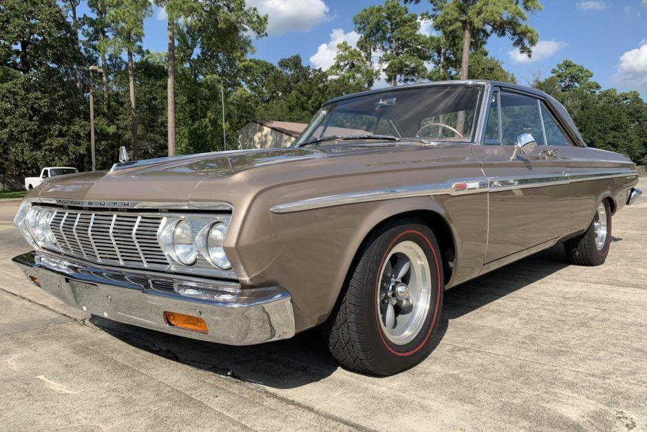 1964 Plymouth Sport Fury Plymouth, Classic cars online