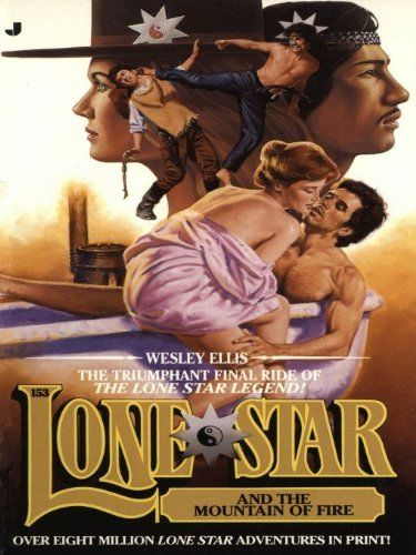 Lone Star 153/mountai by Wesley Ellis. $3.02. 192 pages. Publisher: Jove (May 1, 1995). Author: Wesley Ellis. Jessie and Ki are on a train to Laredo with Jessie's new acquisition, a magnificent black thoroughbred named Lucifer. The train is ambushed and Ki is left for dead, while Jessie and the horse are kidnapped and taken to a fabulous hacienda which stands in the shadow of a living volcano.                            Show more                               Show less