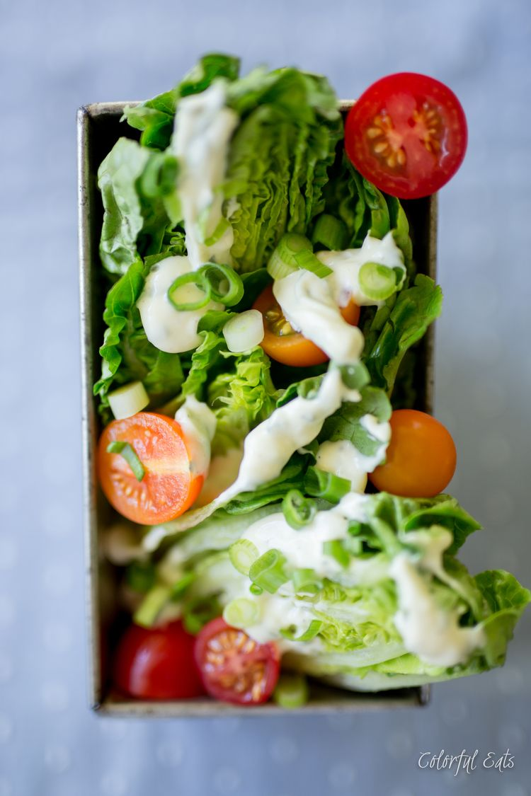 Blt Chop Chop Salad With Quick Paleo Ranch Dressing By Colorful