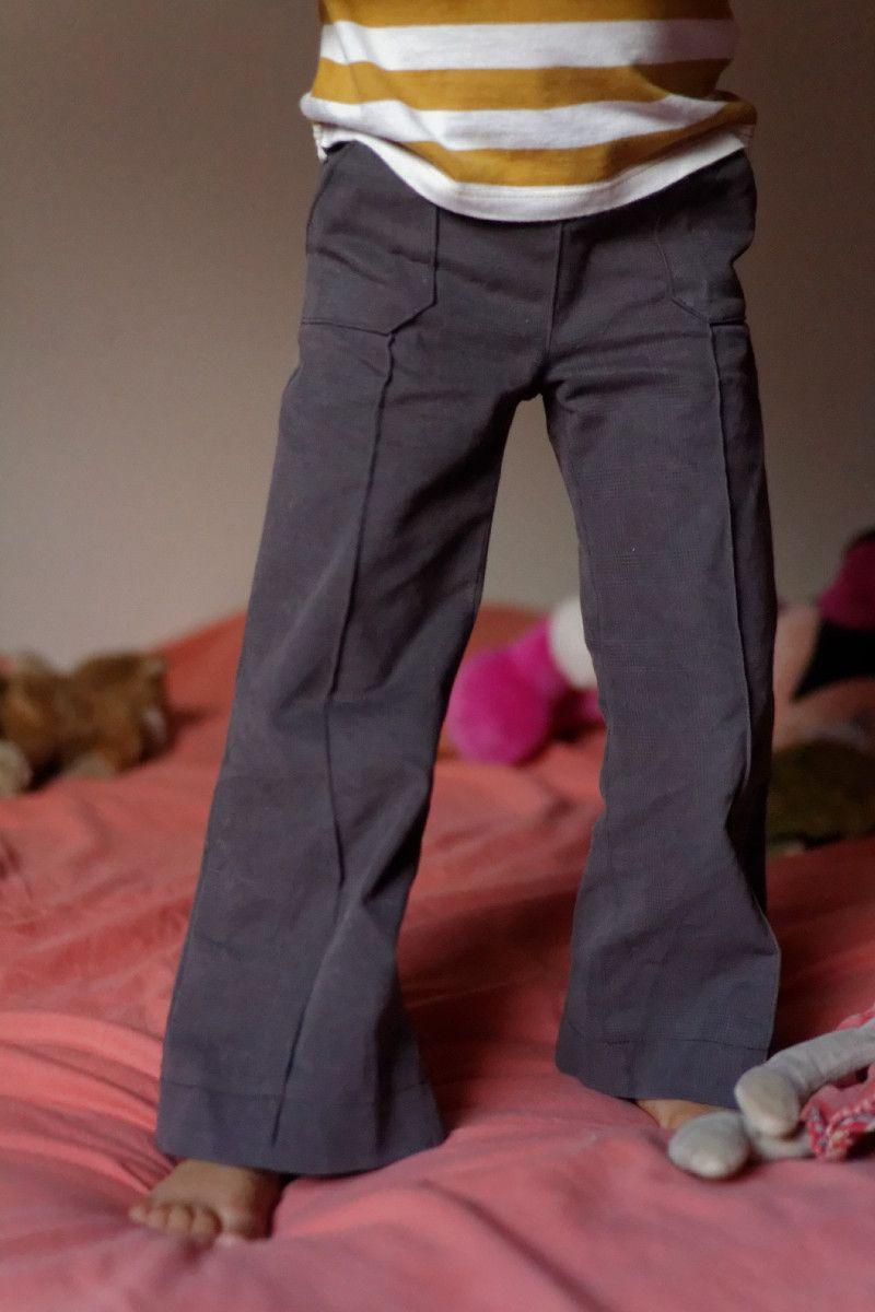 Pantalon Jacob (Zonen09) – version poches plaquées, taille élastiquée et pas de braguette