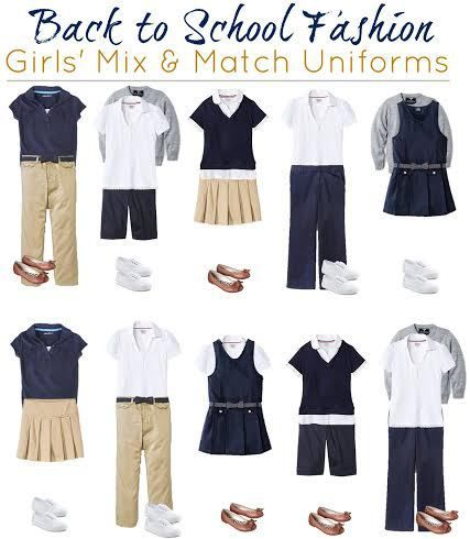 fe3993ebe3c find stylish girls' uniform items at Target, French Toast brand girl's  school uniforms at Target, Cherokee brand girl's school uniform wardrobe  items,