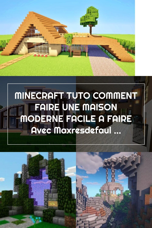 Minecraft Tuto Comment Faire Une Maison Moderne Facile A Faire Avec Maxresd