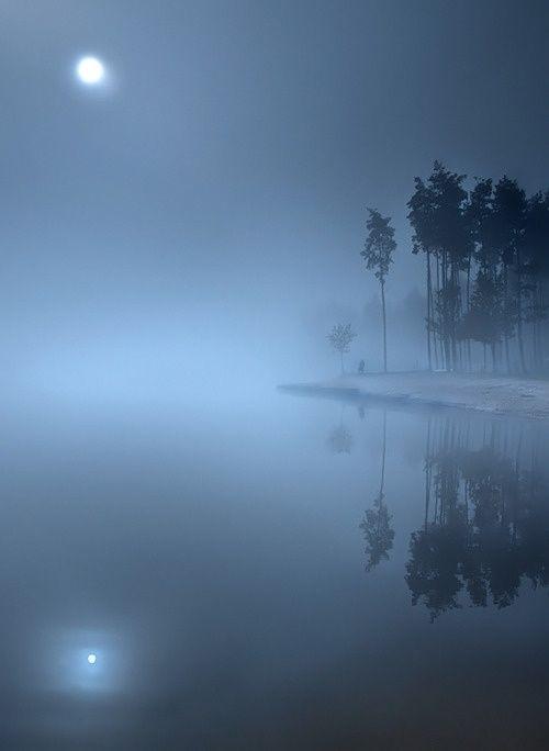 Foggy Full Moon