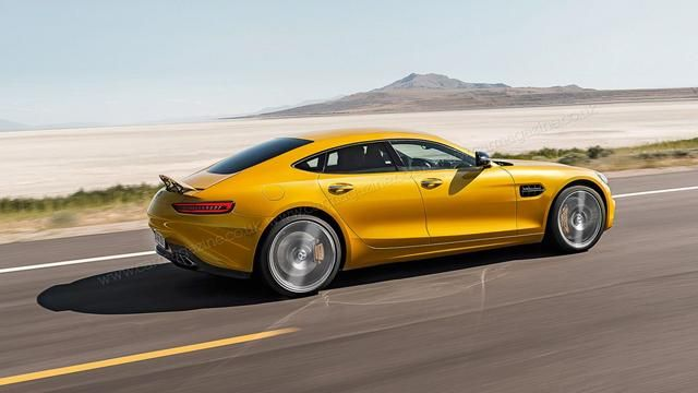New Mercedes-Benz AMG GT4 sports sedan