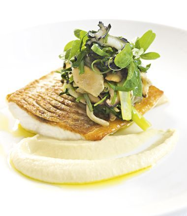 Snapper with Fennel Cream and Stir-Fried Paua recipe, by MiNDFOOD.