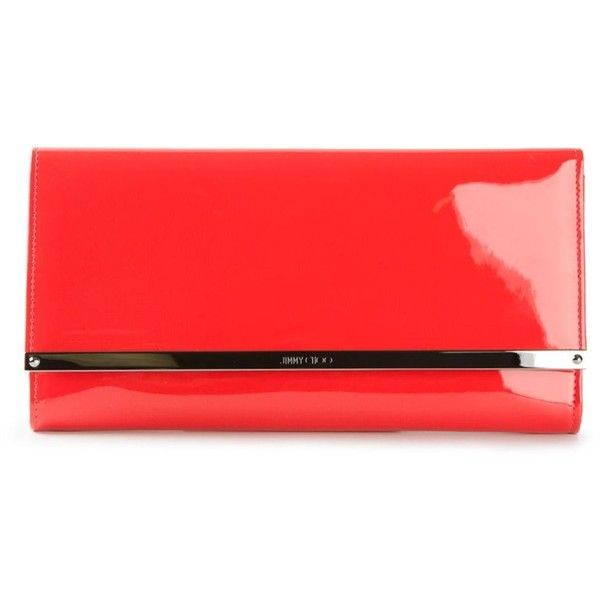 Get To Buy Cheap Online rectangular clutch bag - Red Jimmy Choo London Discount Price Pay With Visa For Sale Free Shipping Latest Wbtmw7MT6y