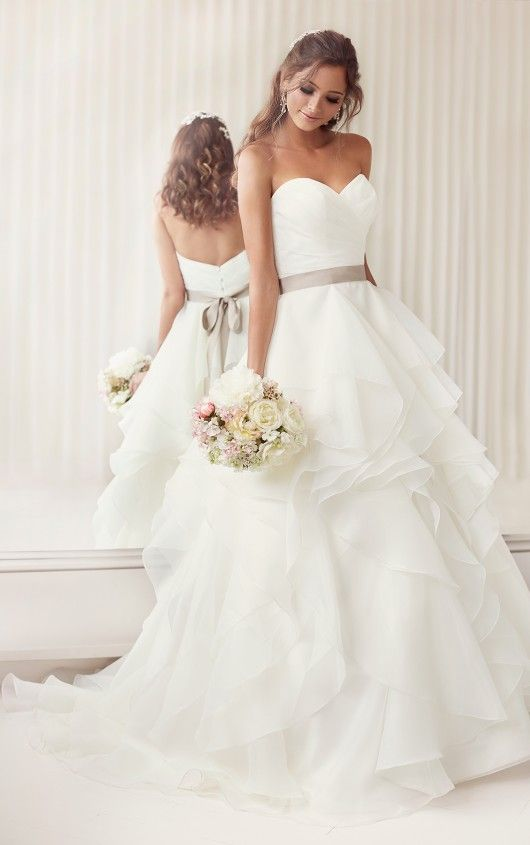 A Line Sweetheart Wedding Dress From Essense Of Australia Style