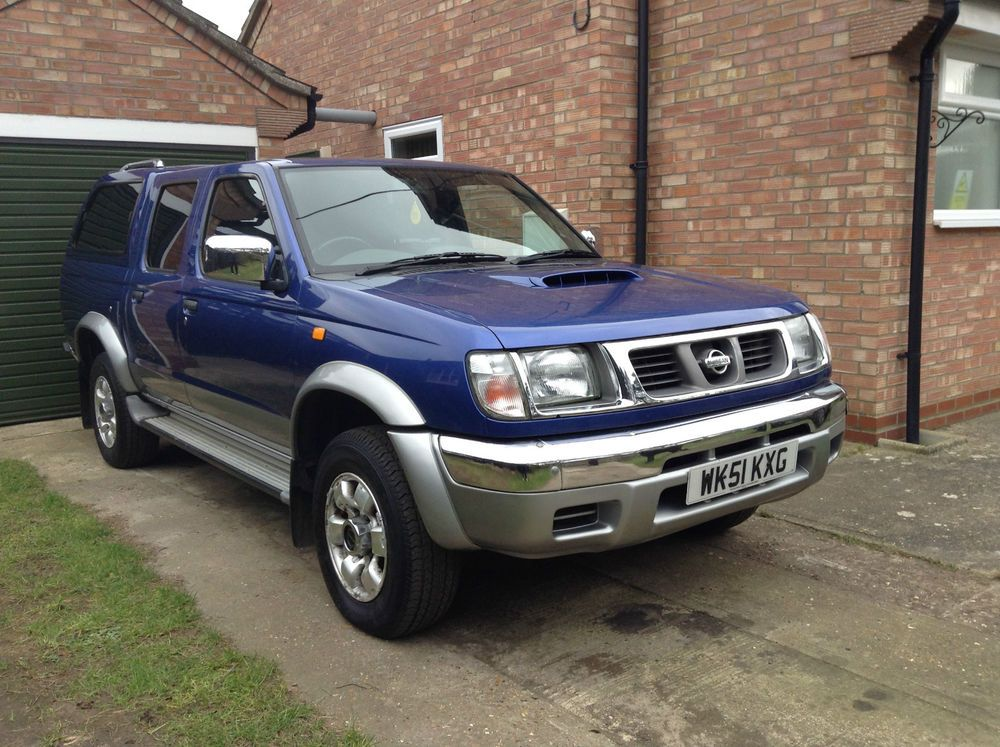 nissan navara d22 4wd diesel doublecab very low mileage 2001 pick up trucks for sale. Black Bedroom Furniture Sets. Home Design Ideas