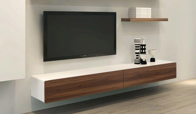 Plasma Tv Mounted Onto Veneer Board Modern Google Search