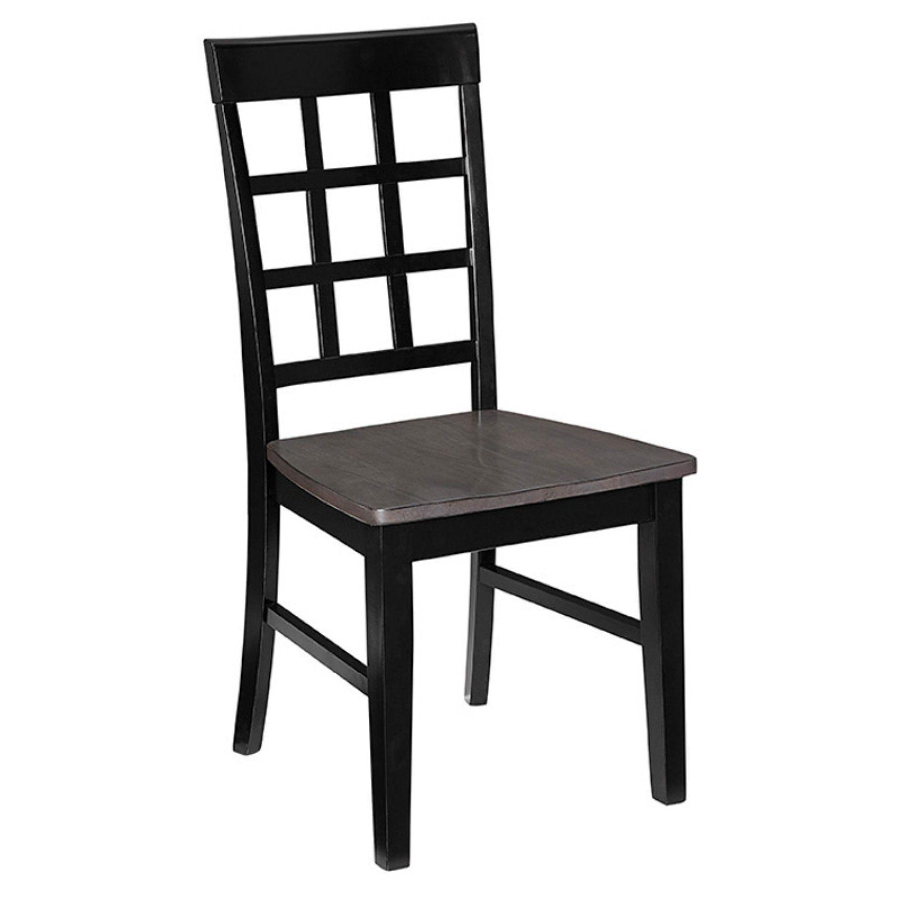 Progressive Furniture Salem Lattice Back Dining Side Chair Set