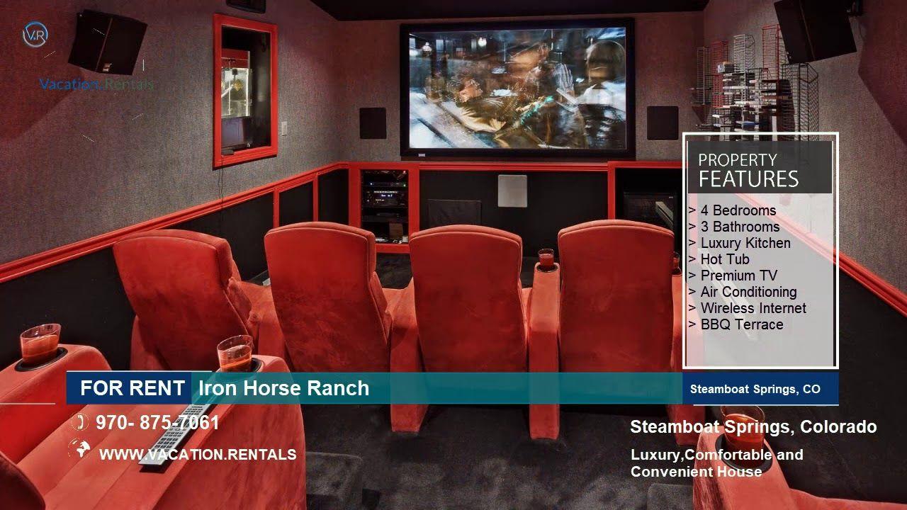 Colorado Vacation Rentals Iron Horse Ranch Steamboat Springs Colorado Vacation Rentals Colorado Vacation Colorado Rental