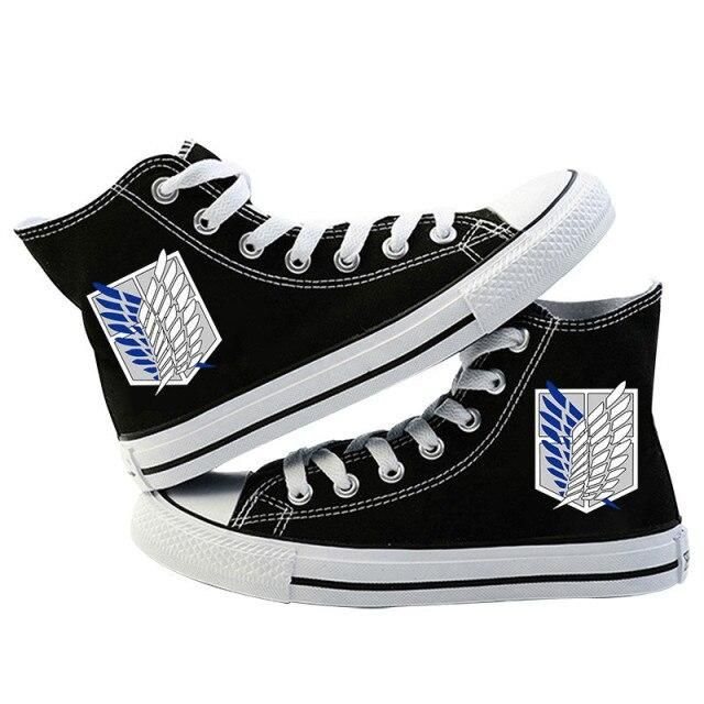 Photo of Anime Cosplay Canvas Shoes – A / 35