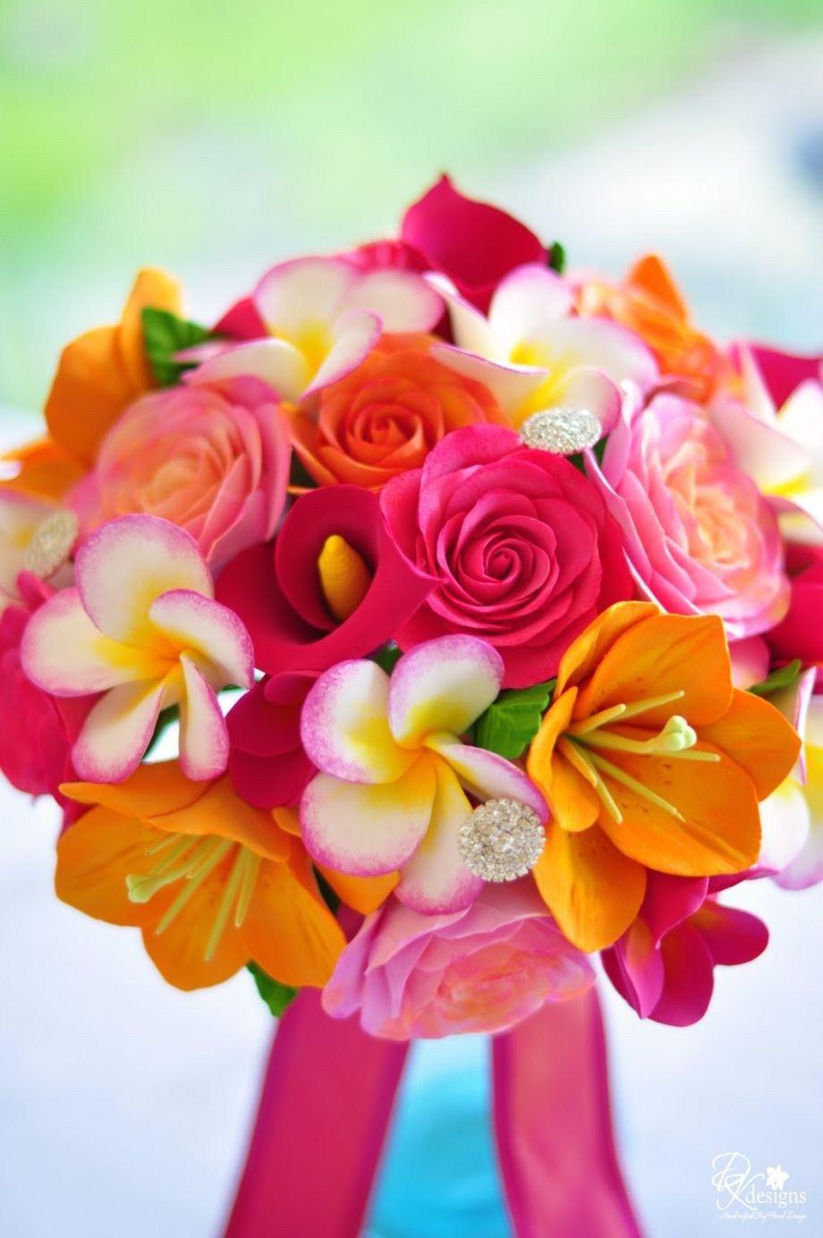 84 Amazing Tropical Bouquet Bridal Ideas 2017