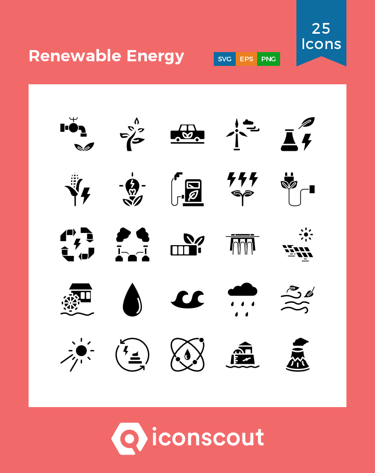 Download Renewable Energy Icon Pack Available In Svg Png Eps Ai Icon Fonts Icon Renewable Energy Icon Font