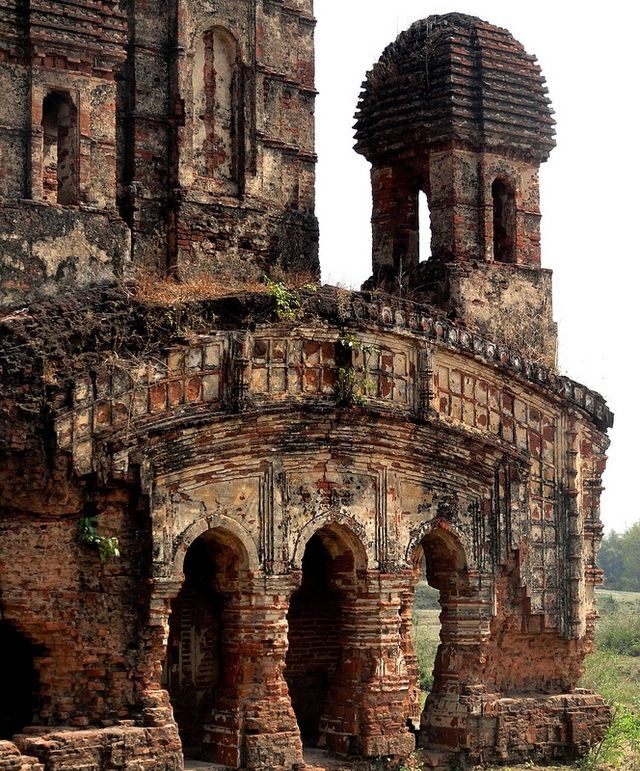 Temple Ruins, Ancient Architecture, Indian
