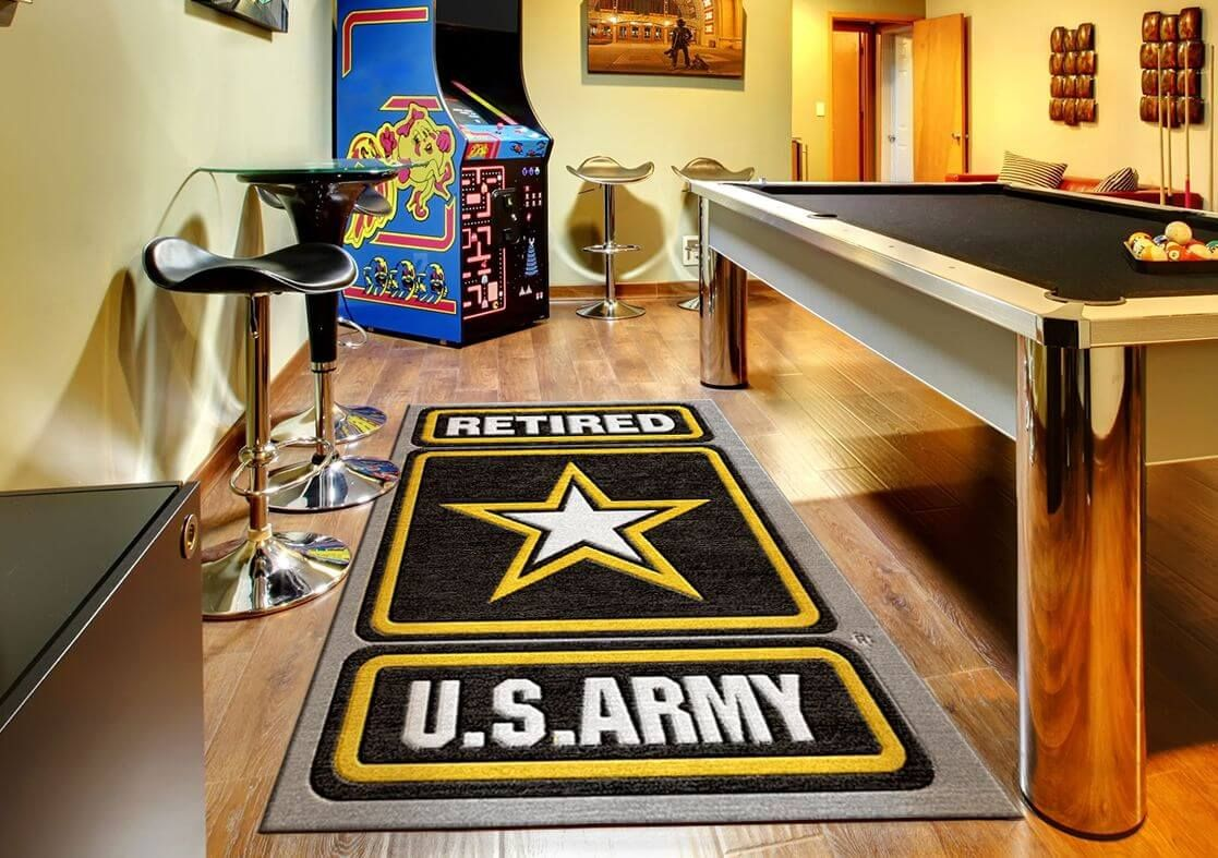 Rug rats specializes in creating customized logo rugs and mats for all branches of the united