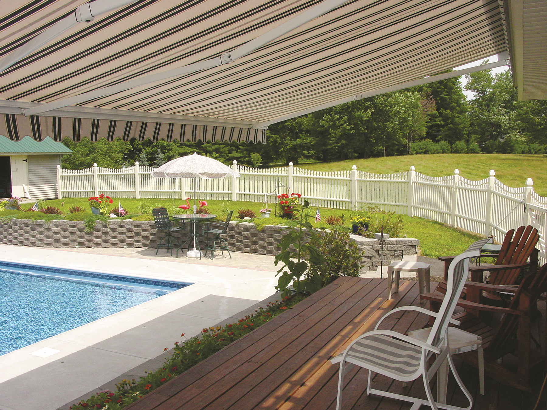 backyard paradise elegent awning styles pinterest backyard