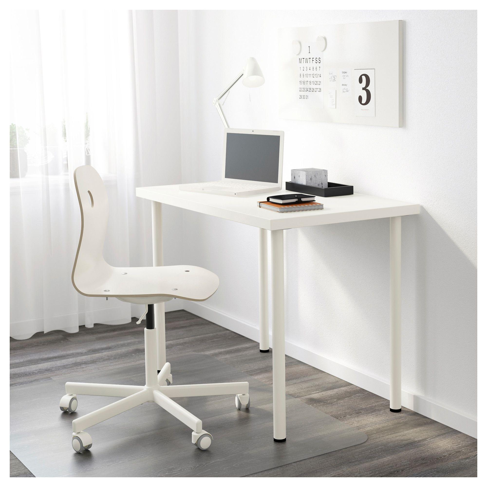 Linnmon Adils White Table 100x60 Cm Ikea Linnmon Table Top Ikea Linnmon Desk Ikea