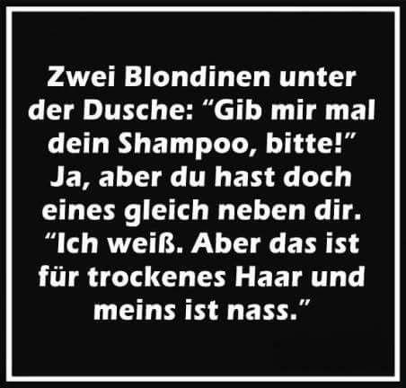 Zwei Blondine ....