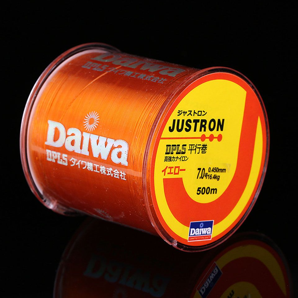Mr. Fish Nylon Line Daiwa Nylon Fishing Line 500M 2-35LB ...